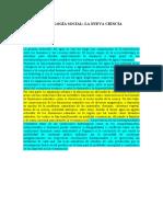 HIDROLOGÍA SOCIAL-estructura