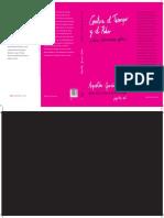 Montaje de la cubierta del libro Contra el Tiempo