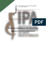1. AVI - tecnicas generales de escritura