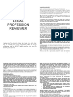 UP B2005- Legal Profession Reviewer