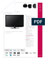 Lg Electronics 42lh20 Specs