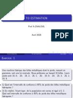 Td Estimation 2020