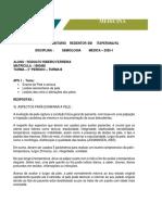 APS SEMIOLOGIA PELE - RODOLFO FERREIRA