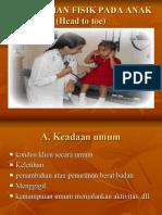 Pengkajian Fisik Pada Anak (Head to Toe