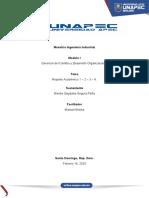 Reporte Académico 1. Proceso de levantamiento de Información Diagnóstica