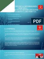 APLICACIÓN DE LA METODOLOGÍA CRISP-DM A
