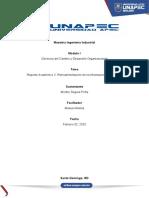 Reporte Académico 2. Retroalimentación de la Información Diagnostica