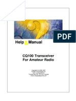Amateur Radio Transreceiver