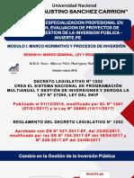 01 Marco General, Ley y Reglamento 03.03