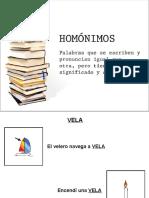 homonimos con pictogramas