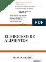 DEMANDA DE ALIMENTOS  PRESENTACION