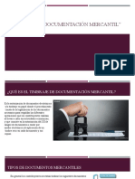 Timbraje de Documentación Mercantil