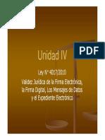 Unidad IV_Ley de firma digital