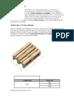 2. Tarimas de madera