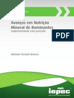 Avanços em Nutrição Mineral de Ruminantes (1)