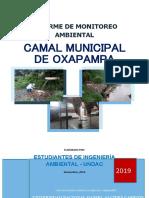 MONITOREO DE LA CALIDAD DEL AGUA DEL RIO CHOROBAMBA POR EL EFLUENTE DEL CAMAL MUNICIPAL DEL DISTRITO DE OXAPAMPA, PASCO.docx