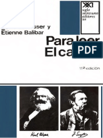 Althusser Louis Y Balibar Etienne - Para Leer El Capital