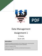 Data-Management(Assignment-1)