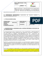ESTUDIOS PREVIOS COMBUSTIBLE SEGURIDAD