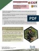 boletin 72 Coportamientos y actitudes ante las agresiones - AGE