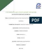 Los enfoques cuantitativos y cualitativo de la investigación científica