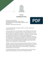Consulta Sostenibilidad Fiscal