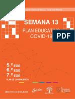 Ministerio de Educación Ecuador Semana 13