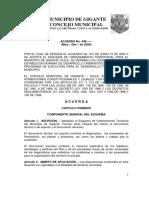 Acuerdo No 048 GIGANTE