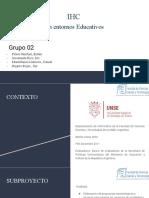 IHC en entorno educativo