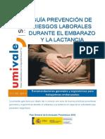 Guía de PRL en embarazo y lactancia - UMIVALE - 2019