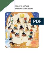 Présentation des Chapitres  traités dans Les Protocoles du Kamite Animiste