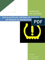 INSTALACIÓN SISTEMA DE CONTROL DE PRESIÓN DE NEUMÁTICOS EN GOLF V