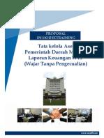 Tata Kelola Aset Pemerintahan Menuju Laporan Keuangan WTP (Wajar Tanpa Pengecualian)