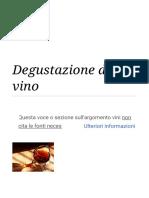 Degustazione del vino - Wikipedia