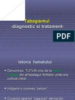 Tabagismul –diagnostic si tratament