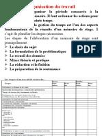 Chapitre 5 Phases Et Étpaes de La Conduite Du Mémoire