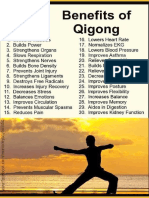 30 Benefits of QI GONG