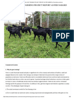 COMMERCIAL GOAT FARMING PROJECT REPORT AS PER NABARD _ _ Pashudhan praharee