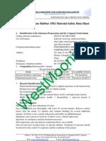 Styrene-Butadiene Rubber 1502 Material Safety Data Sheet