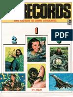 Álbum Os Records - Editora Três [1984]