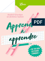Apprendre a apprendre - Andre Giordan & Jerome Saltet.epub