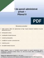 Curs pilon de pensii private