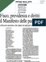 Fisco, previdenza e  diritti