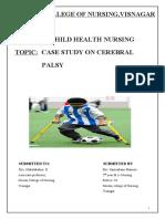 case study on cerebral palsy