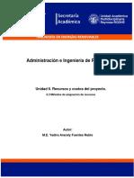 6.3 Métodos de asignación de recursos