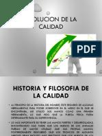 2.- EVOLUCION DE LA CALIDAD