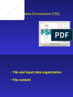 FORTRAN Simulation Environment (FSE)