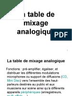 5-La table de mixage analogique.ppt