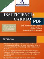 4. Insuficiencia Cardiaca. Dra. Garcia. 2018
