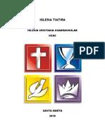 HISTORIA DE LA IGLESIA CRISTIANA CUADRANGULAR